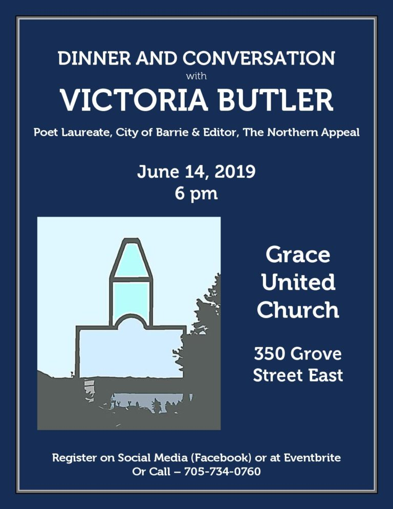 Dinner and Conversation with Victoria Butler