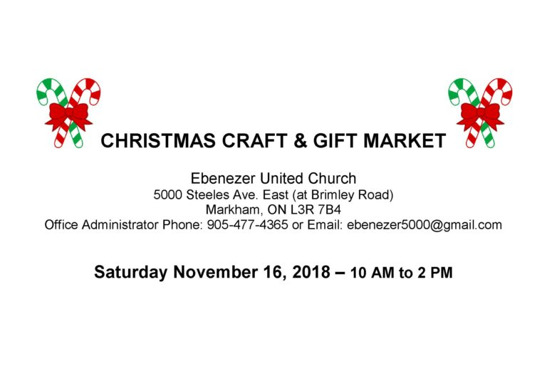 Christmas Craft and Gift Market