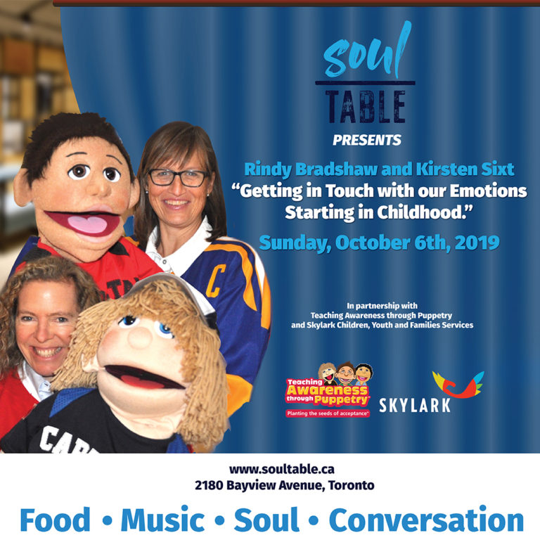 Soul Table presents Getting in Touch with our Emotions – Starting at Childhood