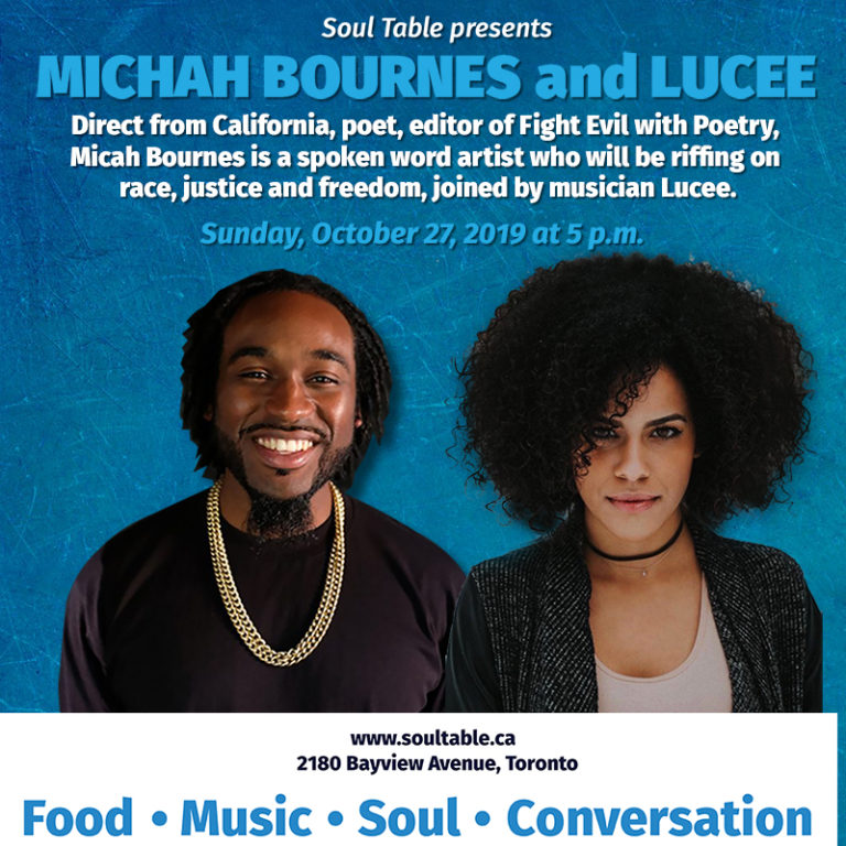 Soul Table presents Micah Bournes and Lucee
