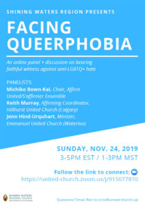 Facing Queerphobia text discussing even