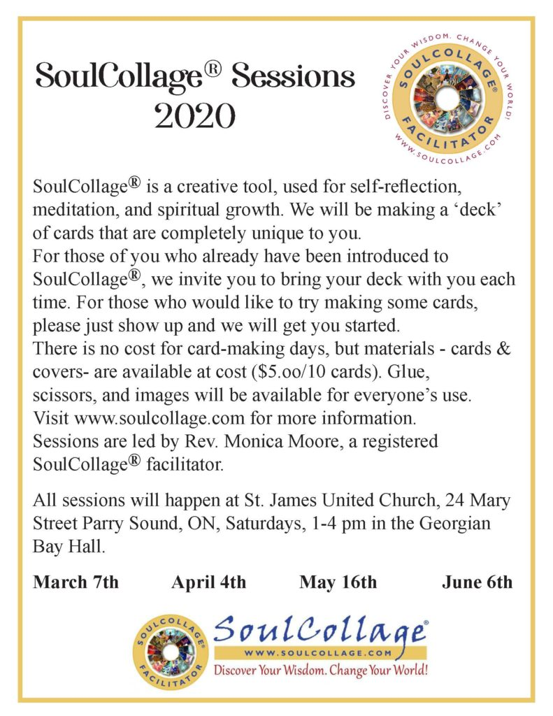 Information about the SoulCollage events