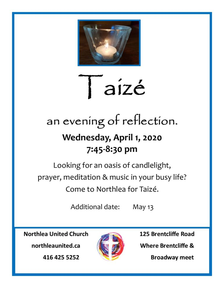Taizé at Northlea