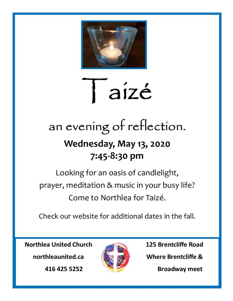 Taizé at Northlea UC