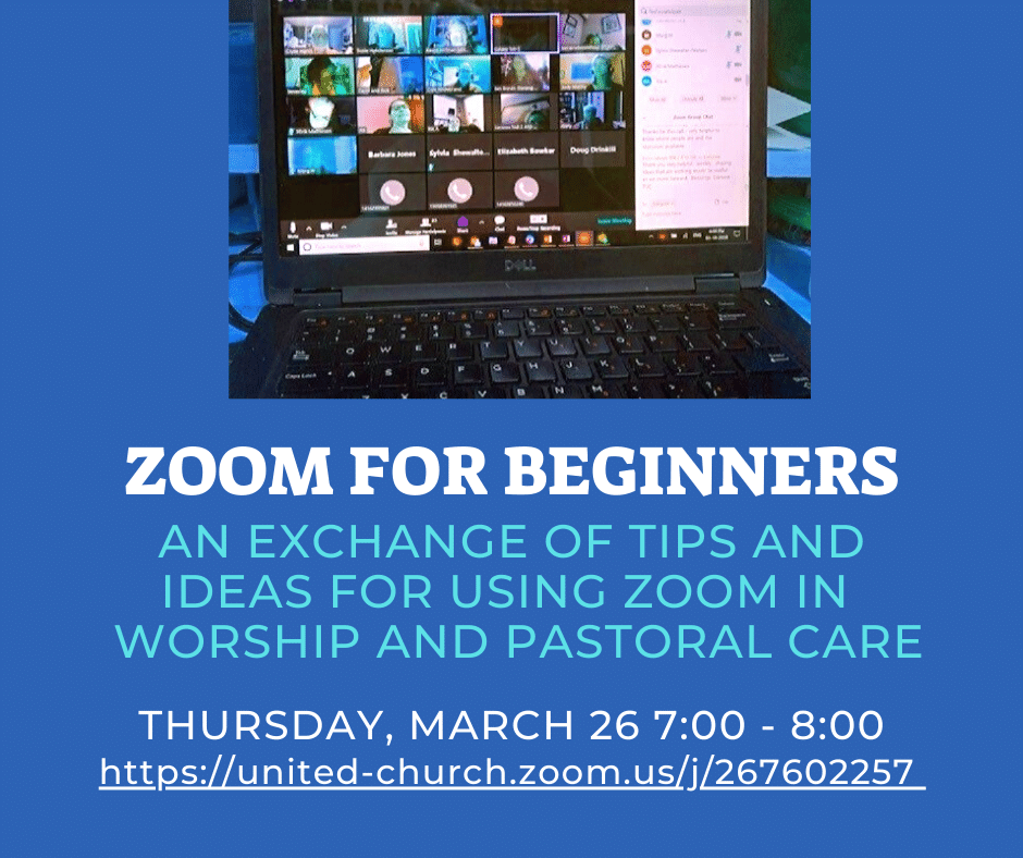 invitation to zoom for beginners