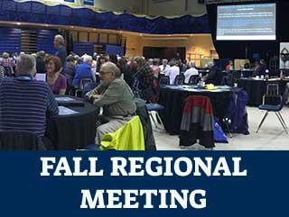 fall regional meeting picture of plenary hall
