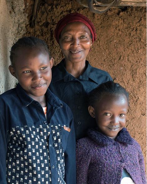 Josephine and two children