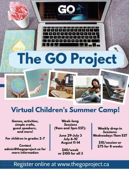 Virtual Children's Day Camp