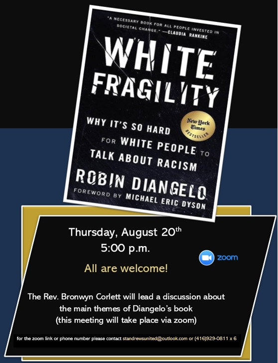"""Book Cover """"White Fragility"""" by Robin Diangelo"""