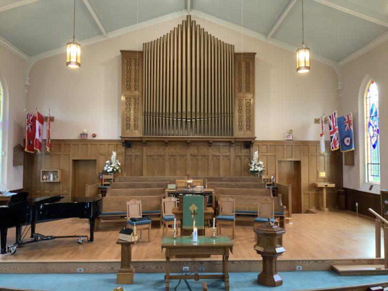 sanctuary of Knox United Church