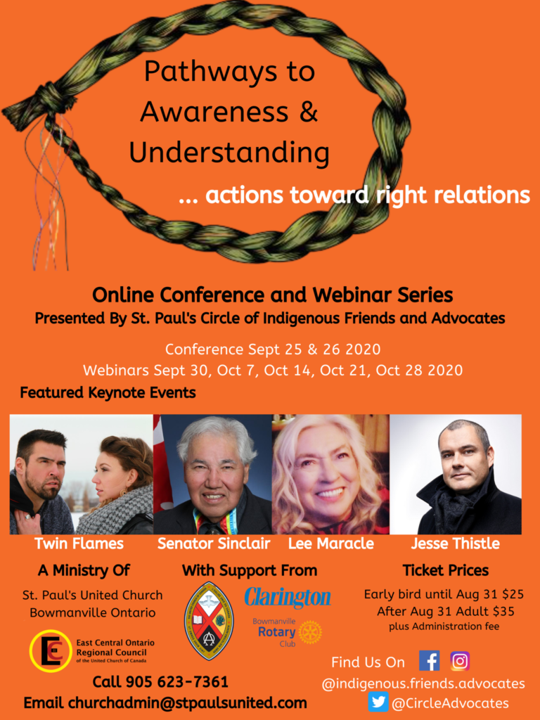 poster featuring photos of keynote speakers