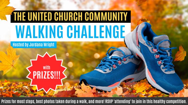 National United Church Community Walking Challenge