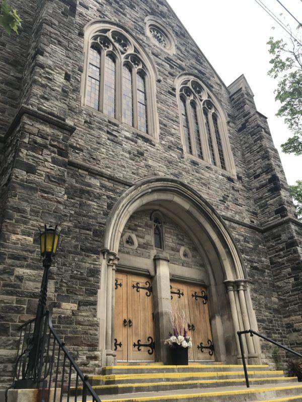 Runnymede UC front doors