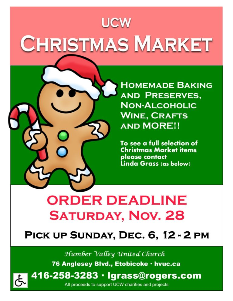 Christmas Market – email orders