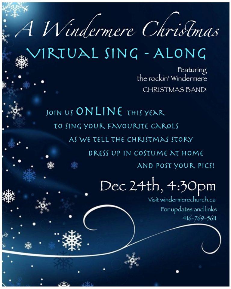 Virtual Sing-Along