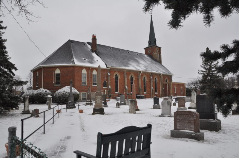 snow-covered Knox Agincourt