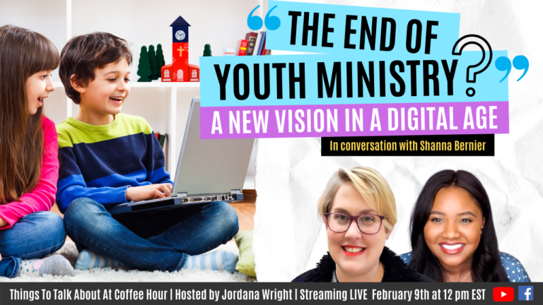 WATCH LIVE: Youth Ministry In A Digital Age