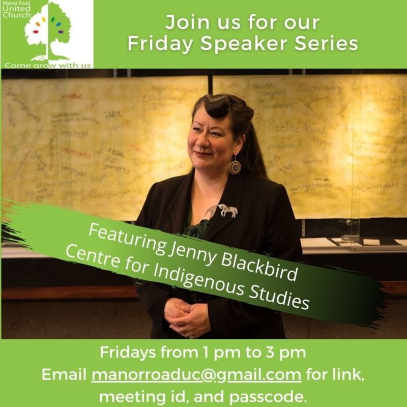 Jenny Blackbird, Centre for Indigenous Studies