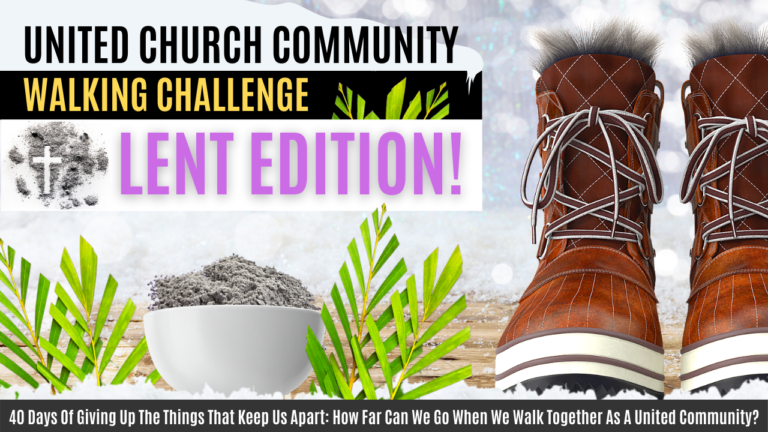 40 Days Of Giving Up The Things That Keep Us Apart: How Far Can We Go When We Walk Together As A United Community?