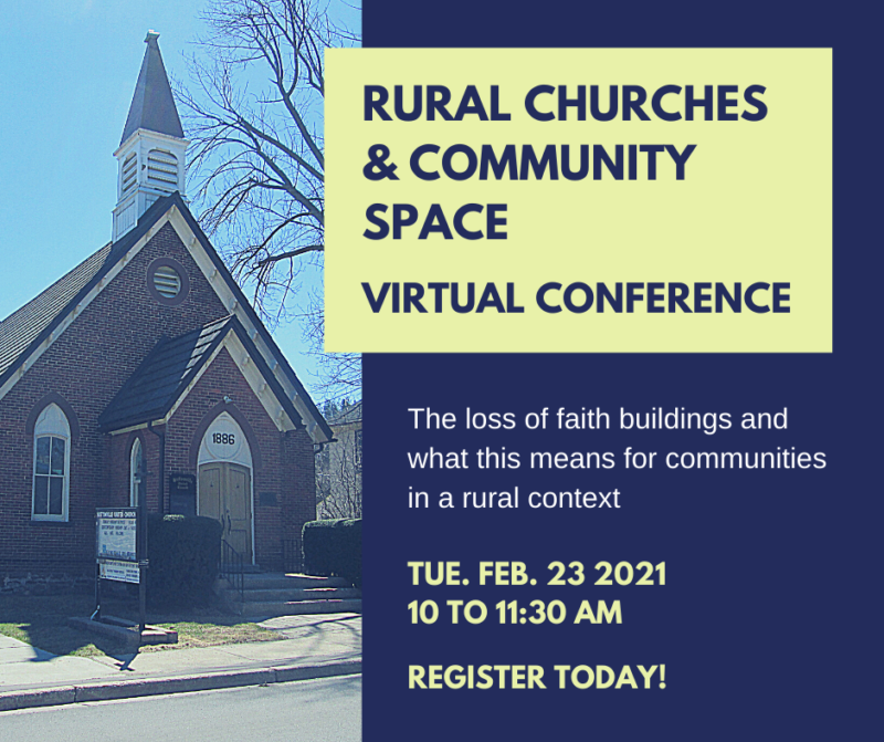Rural Churches and Community Space Conference