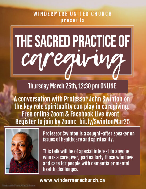 The Sacred Practice of Caregiving