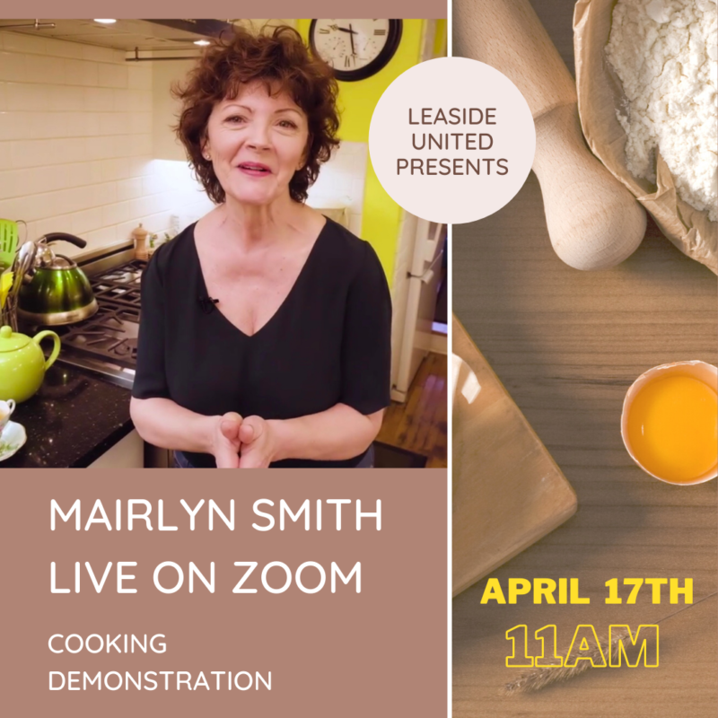 Mairlyn Smith, Live on Zoom
