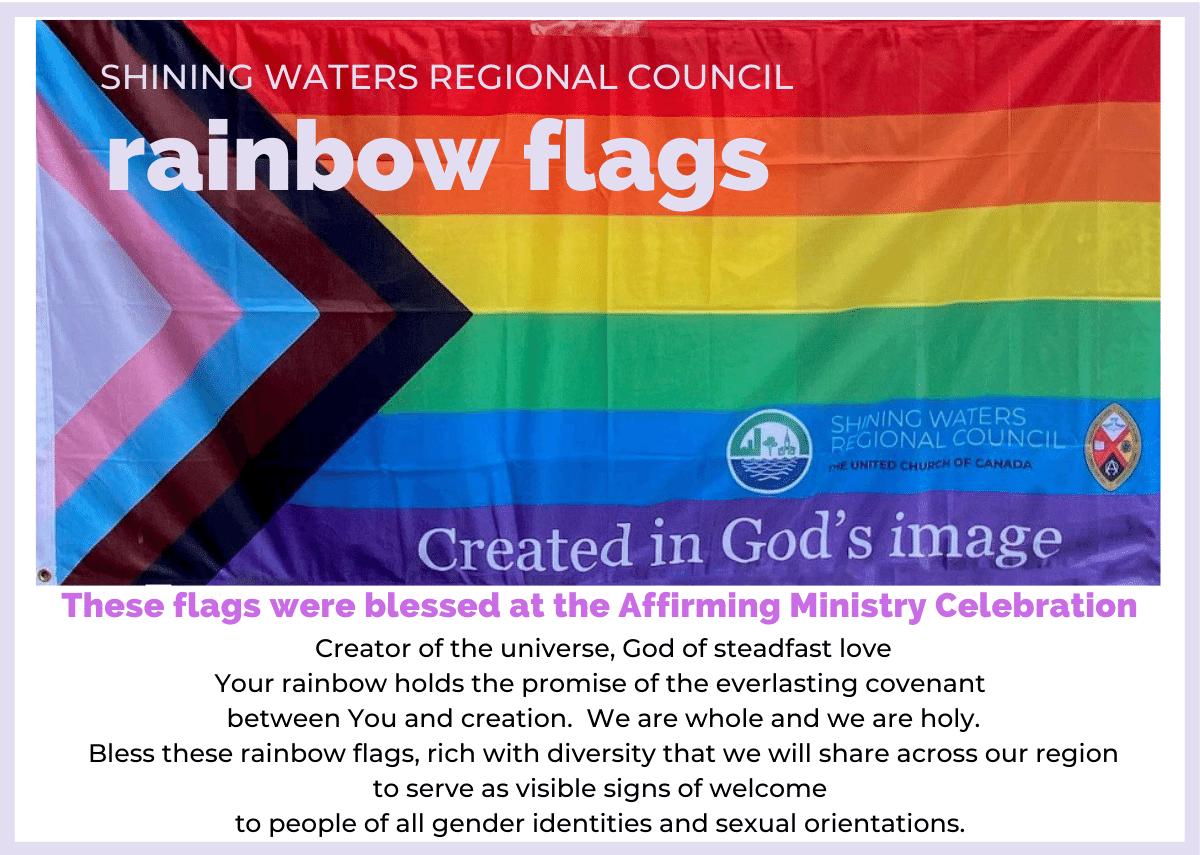 rainbow flag for SWRC