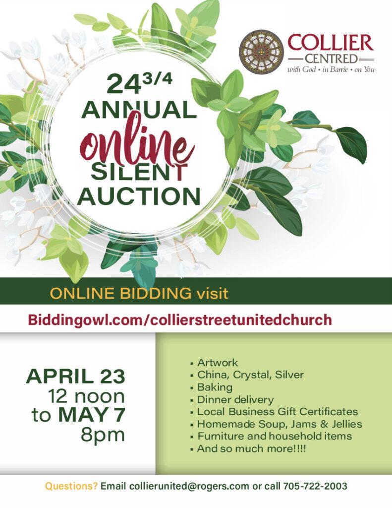 Annual Online Silent Auction