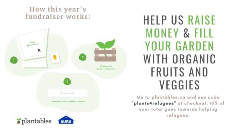Garden for Refuge! A fundraiser for AURA
