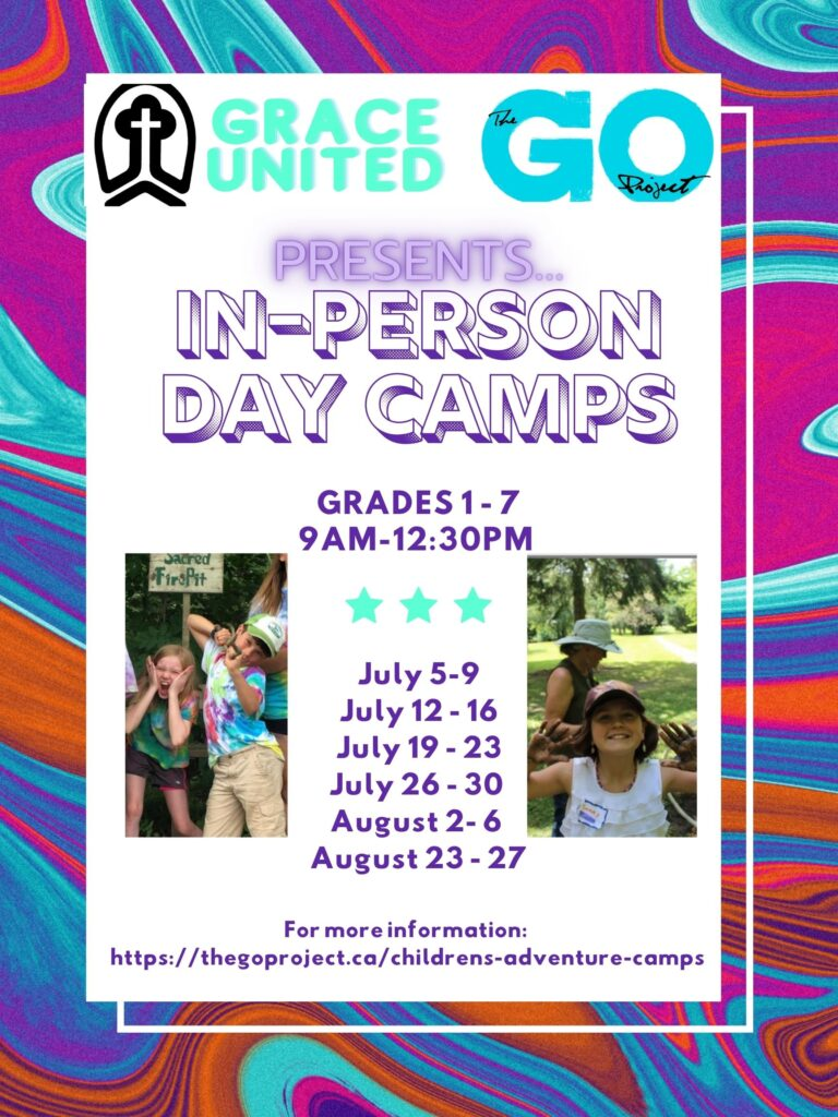 Children's Day Camps – August 23 to August 27