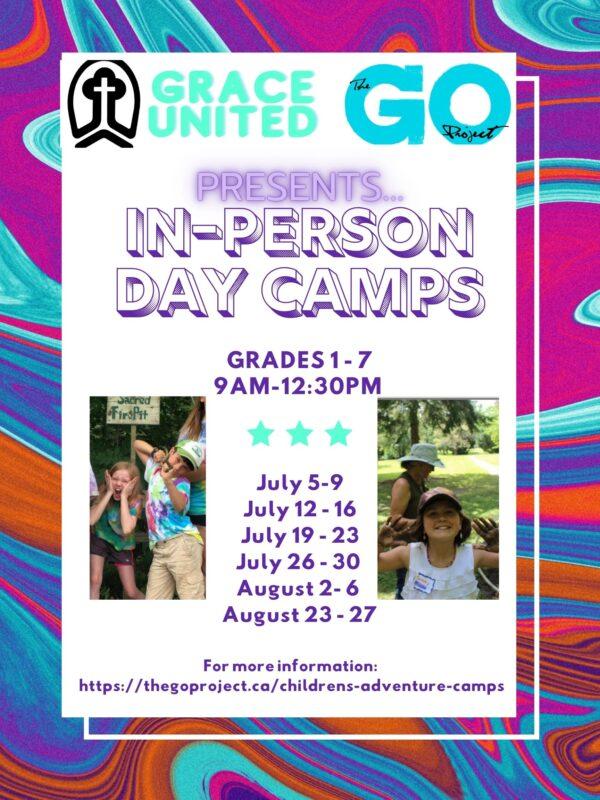 Grace United Church Children's Day Camp