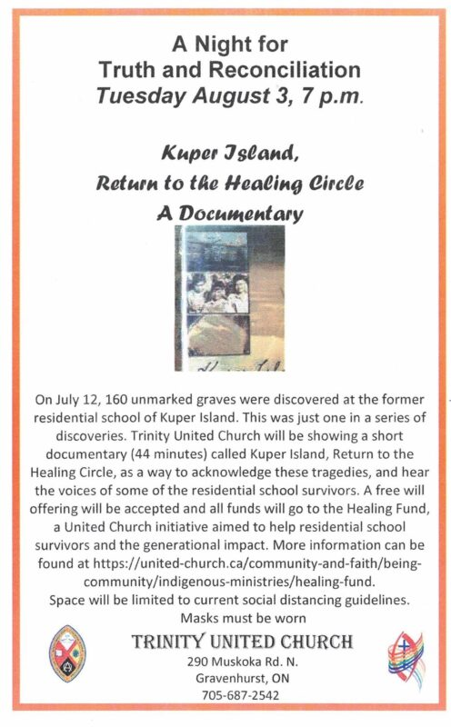 Info about documentary 'Kuper Island, Return to the Healing Circle'