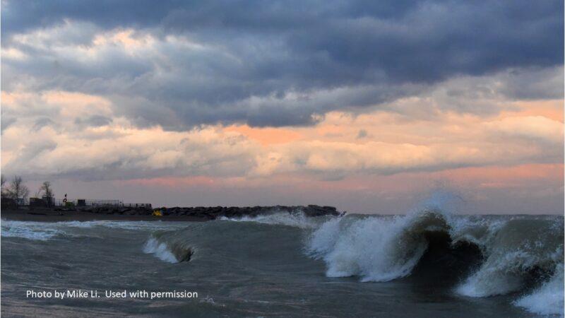 Crashing waters