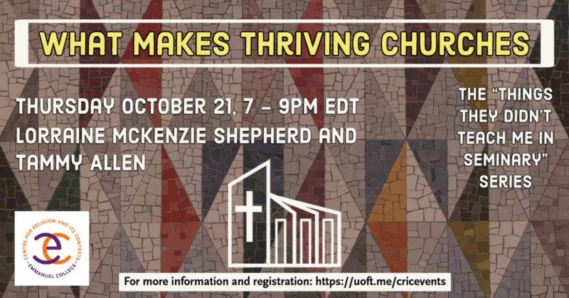 What Makes Thriving Churches