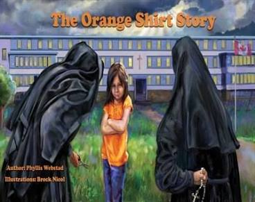 The Orange shirt story book cover