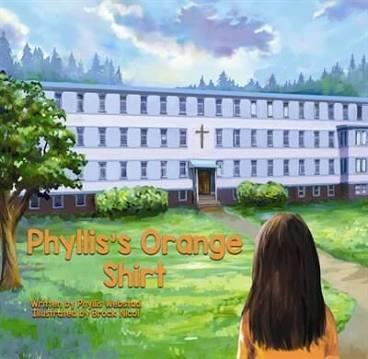 Phyllis orange shirt book cover
