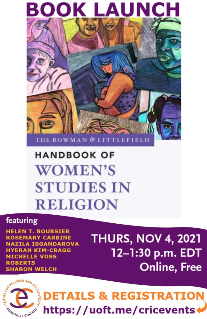 """The Rowman & Littlefield Handbook of Women's Studies in Religion"" Book Launch"