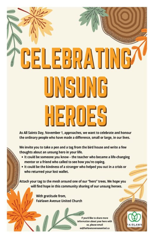Celebrating Unsung Heroes
